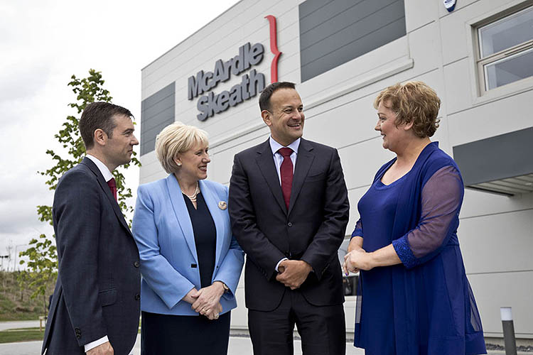 Irish Taoiseach Leo Varadkar at McArdle Skeath event, organised by Cullen Communications.