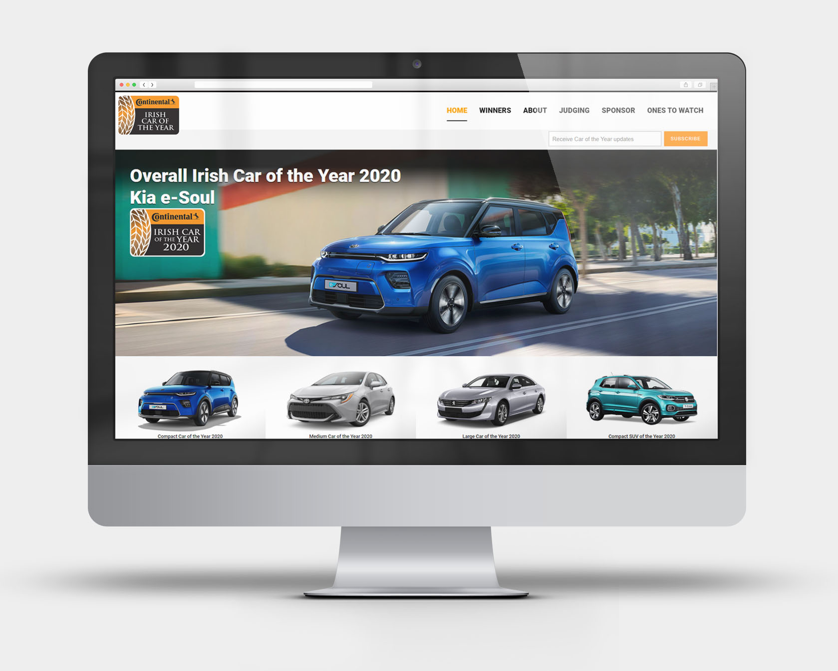 An example of one website we have created for the Irish Car of the Year that was updated live as the announcements were being made. The website was accompanied by a social media campaign that delivered timely information to readers. Caroftheyear.ie has been built and content-supported throughout the year by our in-house digital PR team.