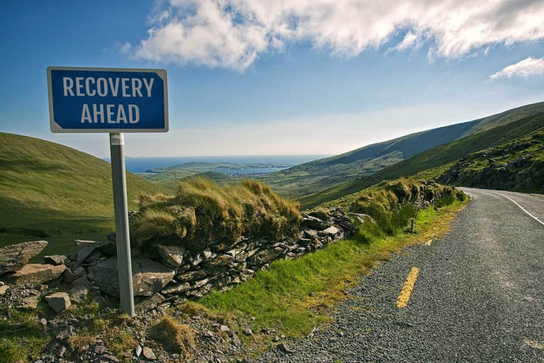 Cullen Communications - Insights - Business Recovery Ireland Road Sign