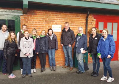 Cullen Communications team volunteering in Barretstown