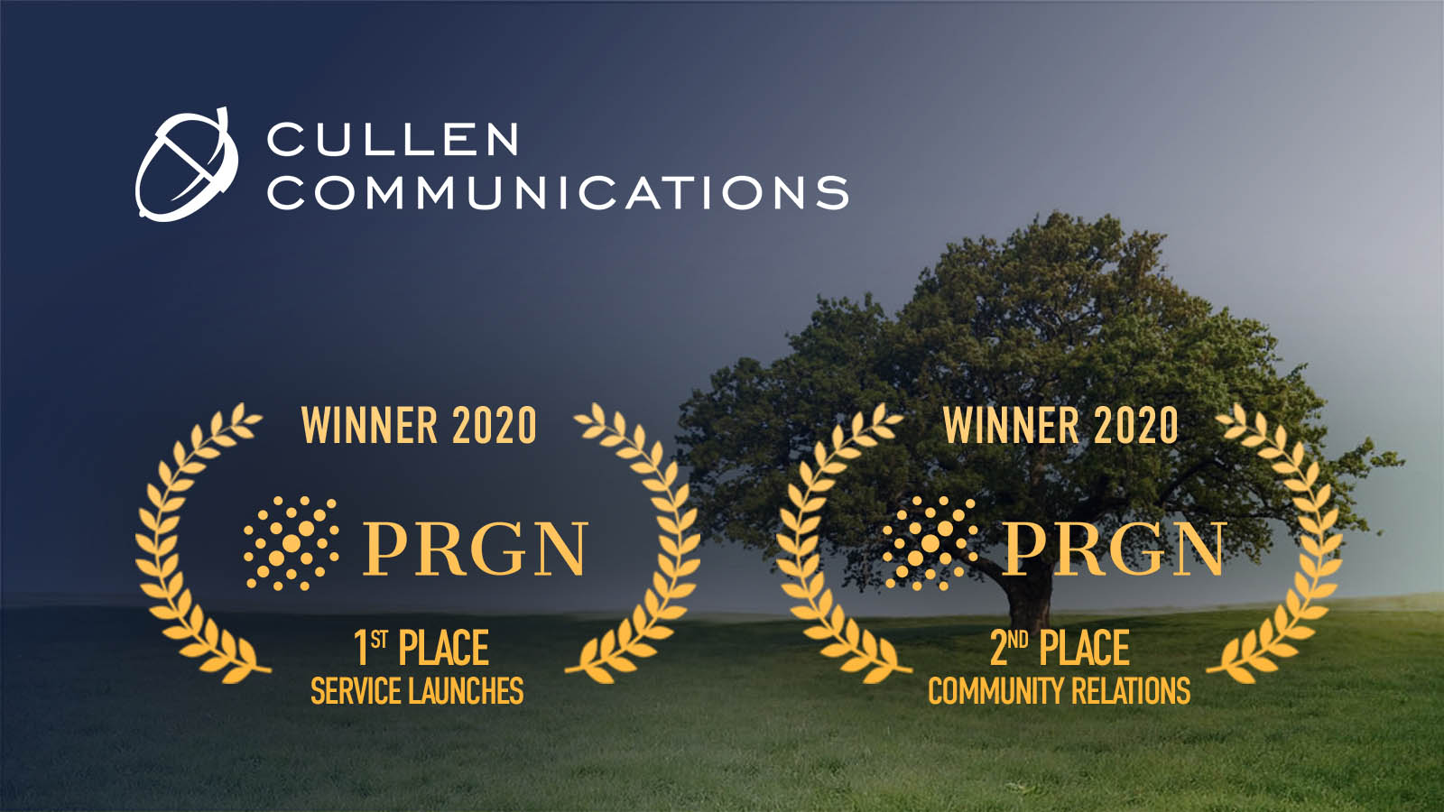 PRGN 2020 Awards Win Announcement